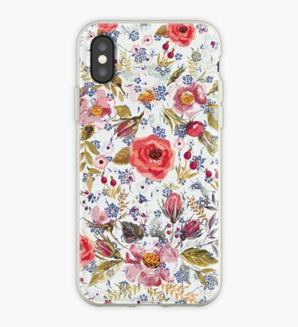 Sea of Floral iPhone Case