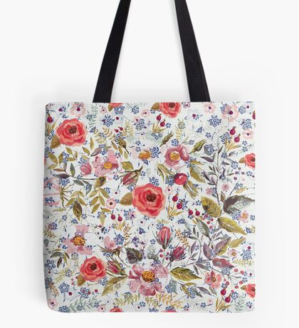 Sea of Floral Tote Bag