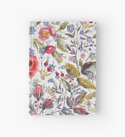 Sea of Floral Hardcover Journal