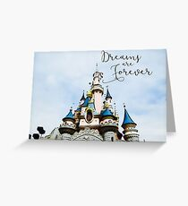 Dreams are Forever Greeting Card