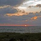Ocean Sunrise by Karl R. Martin