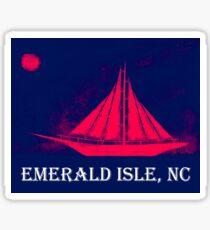 Sailing Ship (Emerald Isle, NC) Sticker