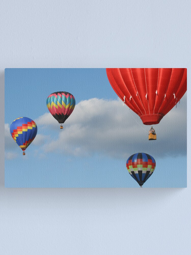 Alternate view of Hot Air Balloons Canvas Print