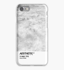 AESTHETICS UNIVERSE SNOW WHITE DESIGN iPhone Case/Skin