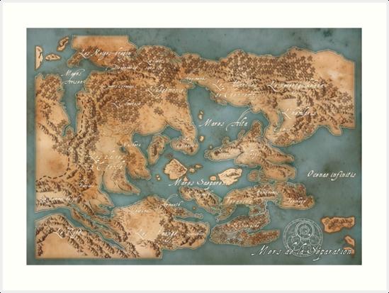Map of Loss : Les mers de la Séparation by psychee