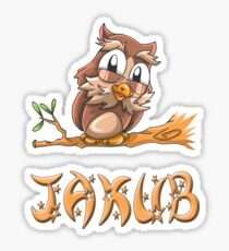 Jakub Owl Sticker