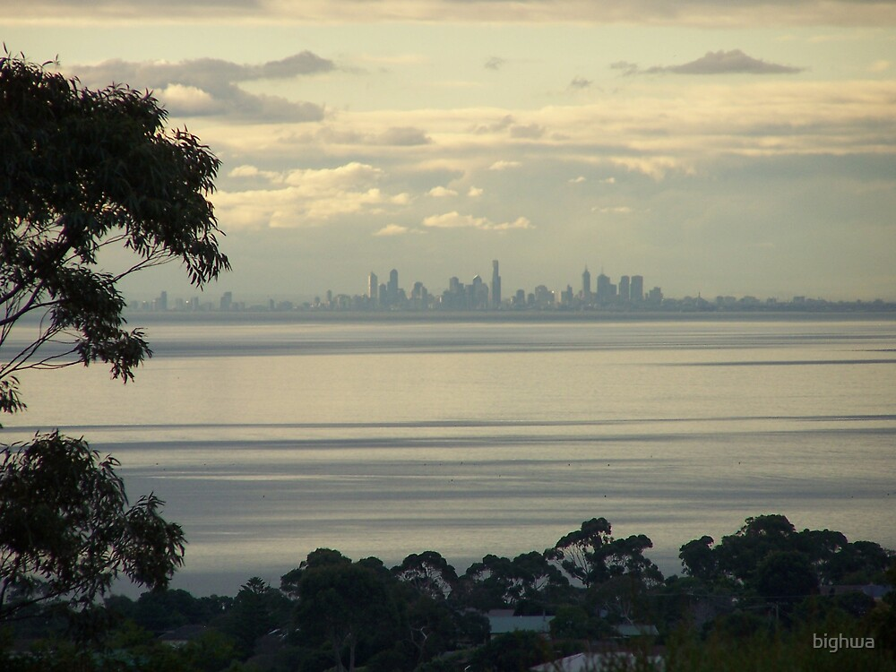 Melbourne (Aust) Skyline by bighwa