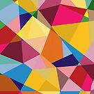 Creative Geometry rainbow triangles by tqueen