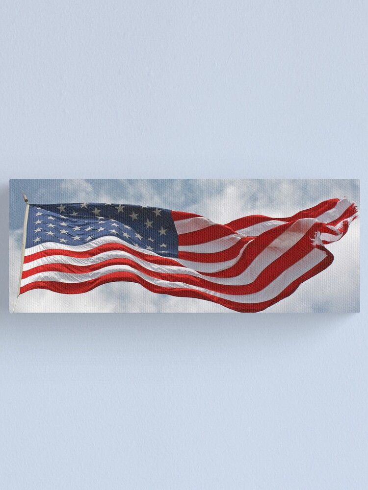 Alternate view of United States Flag Canvas Print