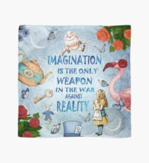 Alice In Wonderland - Imagination Quote Scarf