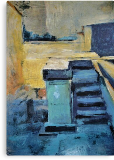 Back Door Steps by John Fish