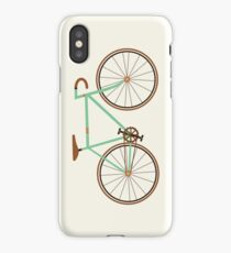 Green Fixie iPhone Case
