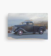 1937 Ford V8 Pickup Truck II Canvas Print