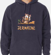 Jermaine Owl Pullover Hoodie