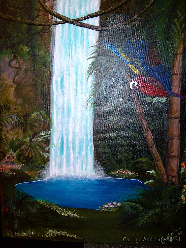 MAGICAL WATERFALL by Carolyn Andrews-Allred