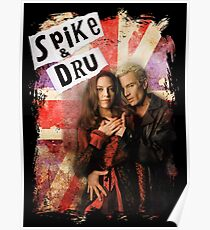 Spike & Dru - Rock & Roll Poster