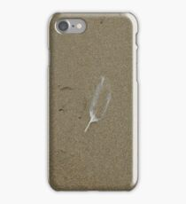 Message in the Sand iPhone Case/Skin