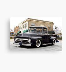 1956 Ford F100 Stepside Pickup I Canvas Print