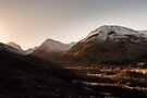 Glen Coe Sunrise by Mark Greenwood
