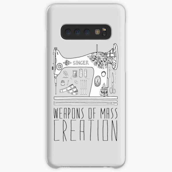 Weapons Of Mass Creation - Sewing Samsung Galaxy Snap Case