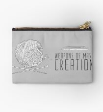 Weapons Of Mass Creation - Knitting Studio Pouch