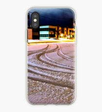 Tracks in the Snow iPhone Case