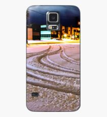 Tracks in the Snow Case/Skin for Samsung Galaxy