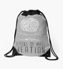 Weapons Of Mass Creation - Knitting Drawstring Bag