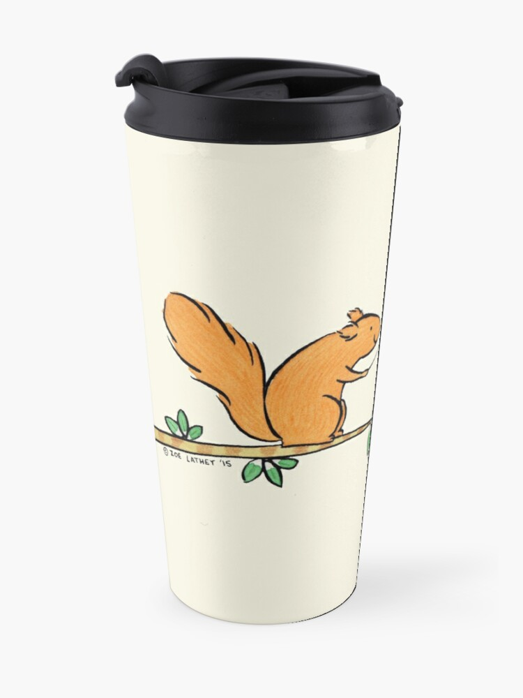 Alternate view of Tickle Tickle Little Squirrel Travel Mug