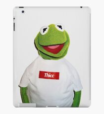 Supreme Kermit Thicc Shirt iPad Case/Skin