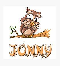 Jonny Owl Photographic Print