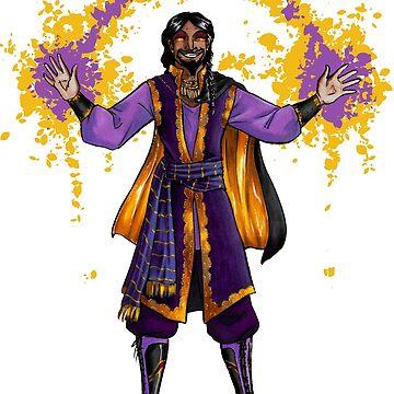 Vox Machina, Shaun Gilmore, human sorcerer by ninniku