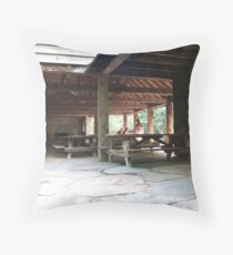 PICNIC TABLES ARE WAITING... Throw Pillow