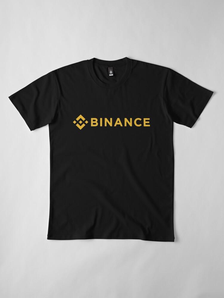 Alternate view of Binance T-Shirt - Crypto Shirt - Binance Shirt Premium T-Shirt
