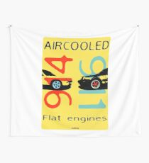 Aircooled flat engines 5 Wall Tapestry