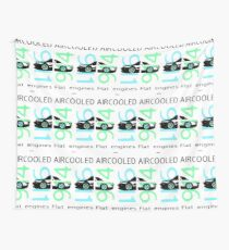 aircooled flat6 engines colored 4 Wall Tapestry