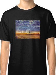 Sunset Contemplation Classic T-Shirt