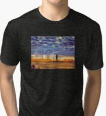Sunset Contemplation Tri-blend T-Shirt