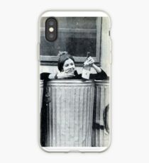 Carrie Fisher In A Bin iPhone Case