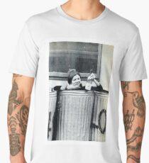 Carrie Fisher In A Bin Men's Premium T-Shirt