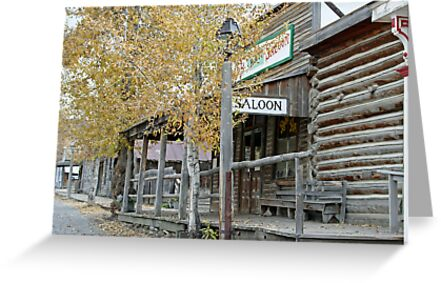 """Old Saloon"" by Lynn Bawden"