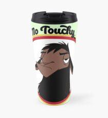 Kuzco NO TOUCHY sad llama emperor's new groove emperor david spade back off no touch funny gift Travel Mug