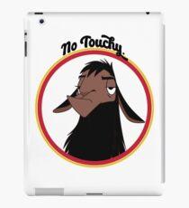 Kuzco KEINE TOUCHY traurige Lama Kaisers neue Groove Kaiser David Spaten zurück aus keine Note lustiges Geschenk iPad-Hülle & Klebefolie