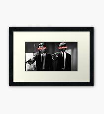 Jules & Vincent - Pulp Fiction Framed Print