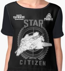 SABRE Star Citizen Chiffon Top