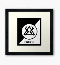 TRUTH - MONKS Framed Print