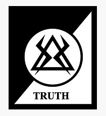 TRUTH - MONKS Photographic Print