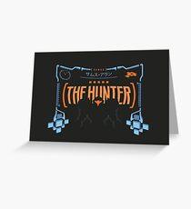 The Hunter Greeting Card