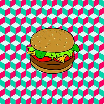 optical burger by happymigrane