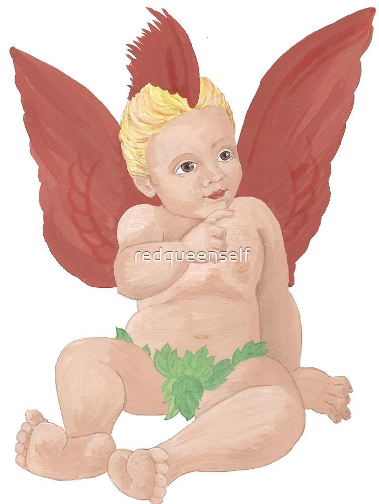 Cardinal Baby by redqueenself